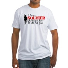 SOLDIER uses his gun Shirt