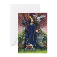 High Priestess Greeting Cards