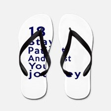 Awesome 18 Birthday Designs Flip Flops