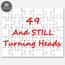 49 Still Turning Heads 2 Red Puzzle