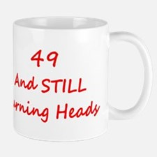 49 Still Turning Heads 2 Red Mugs