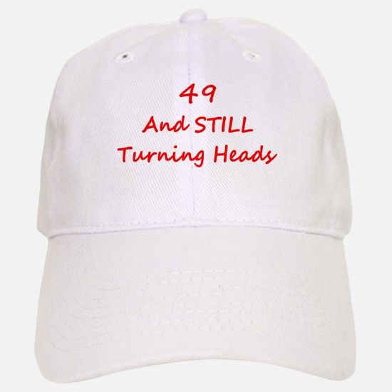 49 Still Turning Heads 2 Red Baseball Baseball Baseball Cap