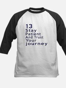 Awesome 13 Birthday Designs Kids Baseball Jersey