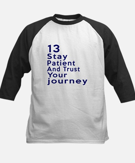 Awesome 13 Birthday Designs Kids Baseball Jersey