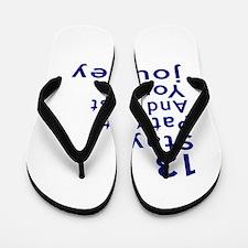 Awesome 13 Birthday Designs Flip Flops