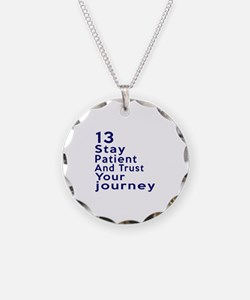 Awesome 13 Birthday Designs Necklace