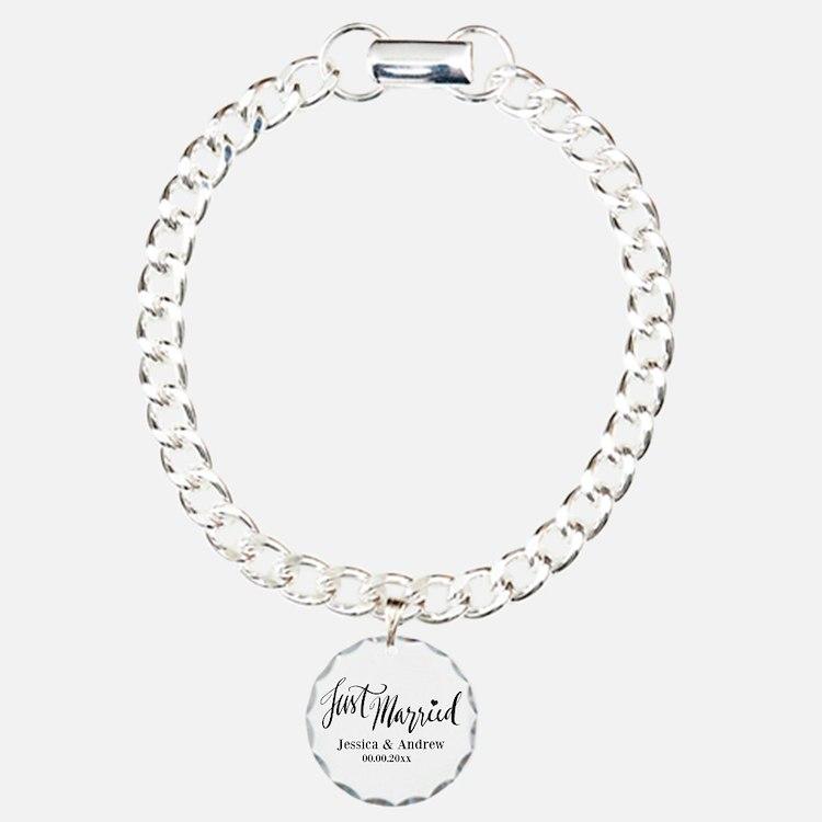 Just Married Custom Bracelet