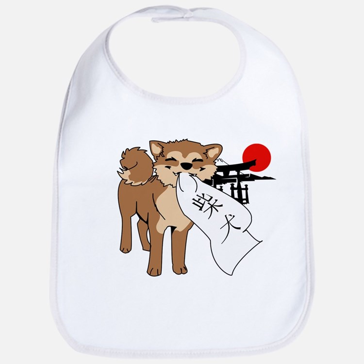 Shiba Inu Benkai Japan Baby Bib