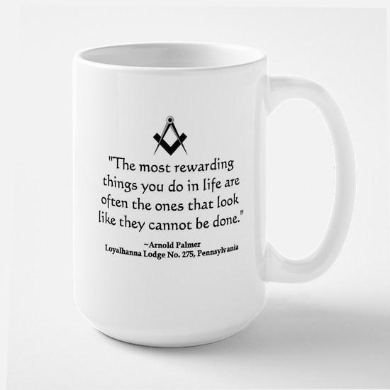 Arnold Palmer Quote Mugs