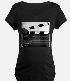Clapperboard Maternity T-Shirt