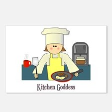 Kitchen Goddess Postcards (Package of 8)