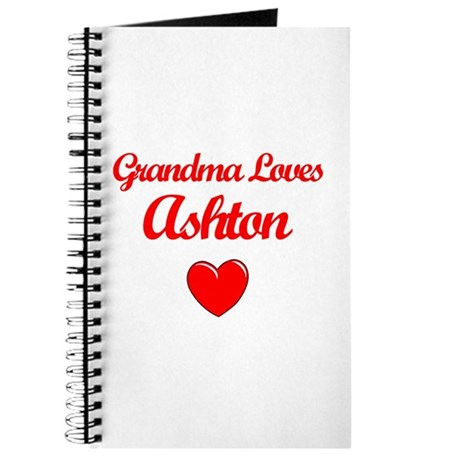 Grandma Loves Ashton Journal