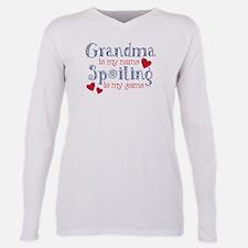 Spoiling Grandma Plus Size Long Sleeve Tee T-Shirt
