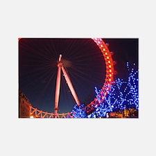 London Eye Rectangle Magnet