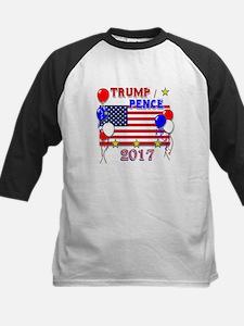 Trump Pence 2017 Kids Baseball Jersey
