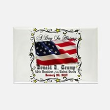 History Trump Pence 2017 Rectangle Magnet