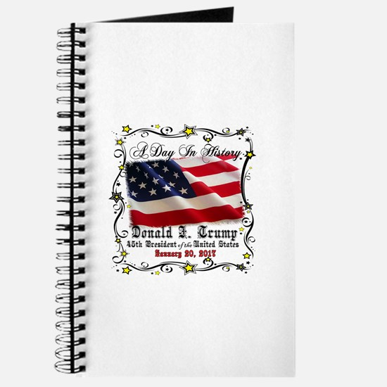 History Trump Pence 2017 Journal