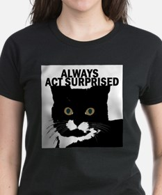tuxedocat02 Ash Grey T-Shirt