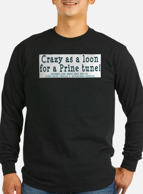 crazyback2005partyshirtteal Long Sleeve T-Shirt