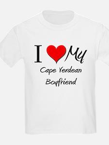 I Love My Cape Verdean Boyfriend T-Shirt