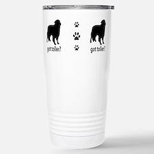 Unique Little red duck dog Travel Mug