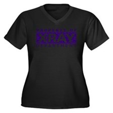 Cute Radiologic technologist Women's Plus Size V-Neck Dark T-Shirt