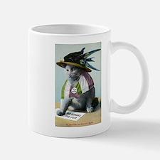 Suffragette Cat Mugs