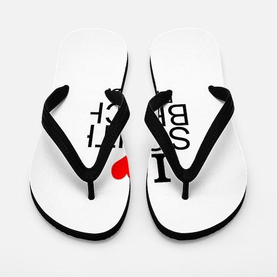 I Love South Beach, Florida Flip Flops