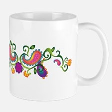 Pretty Paisley Mugs