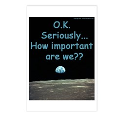 How Important Are We? Postcards (Package of 8)