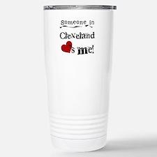 Unique Someone ohio loves me Travel Mug