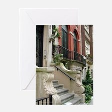 Row House in NYC Greeting Card