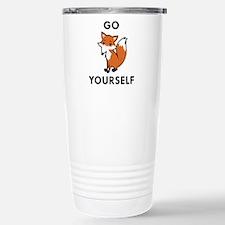 Cute Animal funny sayings Travel Mug