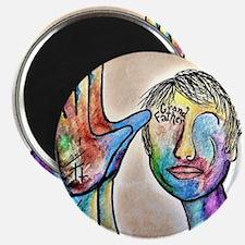 Funny Deaf art Magnet