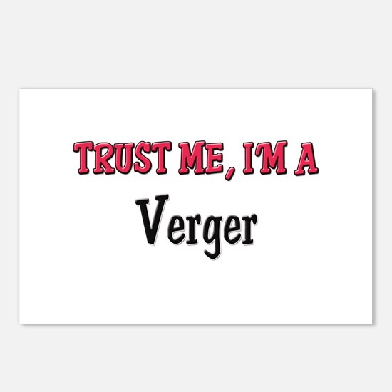 Trust Me I'm a Verger Postcards (Package of 8)