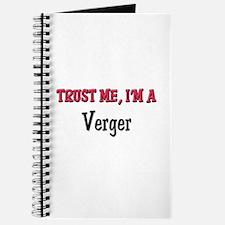 Trust Me I'm a Verger Journal