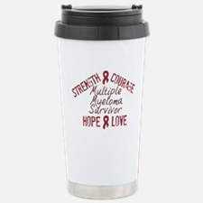 Cute Breast cancer support sister in law Travel Mug