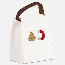 Poop (Shit) Magnet Canvas Lunch Bag