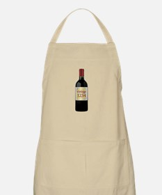 Custom Vintage Wine Apron