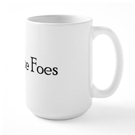 Faux Poe Foes Large Mug