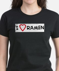 I Love Ramen Ash Grey T-Shirt