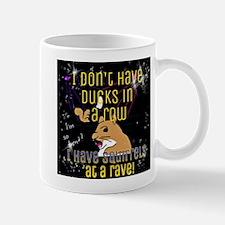 Squirrels at a rave Mugs