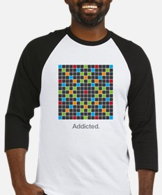 Word Game Addiction Baseball Jersey
