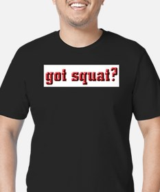 Squat Poem Ash Grey T-Shirt