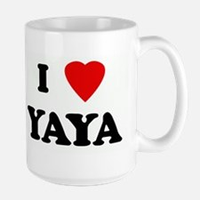 I Love YAYA Mugs