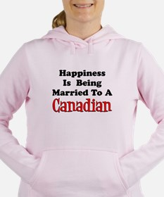 Happiness Married To Canadian Sweatshirt
