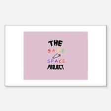 The Safe Space Project Decal