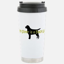 Cute Labrador retriever puppy Travel Mug
