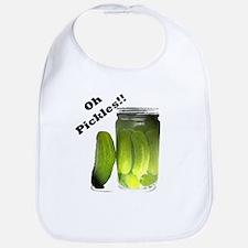 pickles Baby Bib