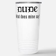 Unique Funny pop culture Travel Mug